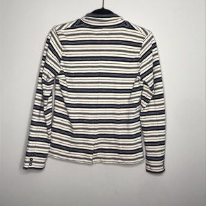 Lucky Brand Jackets & Coats - Lucky Brand 100% Cotton striped casual blazer S